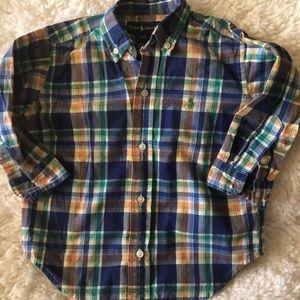 Ralph Lauren boys button up shirt